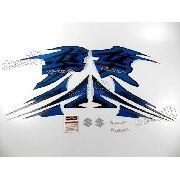 Kit Adesivos Suzuki Hayabusa Gsx 1300r 2013 Azul Hay13az