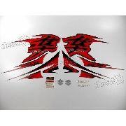 Kit Adesivos Suzuki Hayabusa Gsx 1300r 2013 Preta E Vermelha