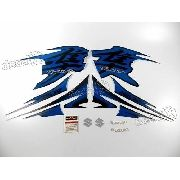 Kit Adesivos Suzuki Hayabusa Gsx 1300r 2012 Azul