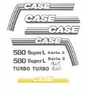 Kit Adesivos Case 580 Super L Serie 2 580l001