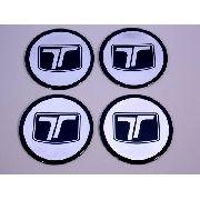 Emblema Adesivos Centro Roda Troller 65mm Resinado Ctres04