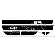 Adesivo Chevrolet Chevette Faixa Gp2 Lateral Gp002