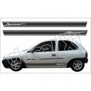 Adesivo Chevrolet Corsa Faixa Lateral 3m Cm3001
