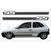 Adesivo Chevrolet Corsa Faixa Lateral 3m Cm3003