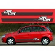 Adesivo Chevrolet Corsa Faixa Lateral 3m Css002