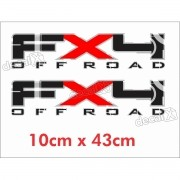 Adesivo Chevrolet Fx4 Off Road Fx4ofr