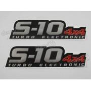Adesivo Chevrolet S10 Rodeio 2011 4x4 Turbo Electronic