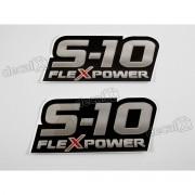 Adesivo Chevrolet S10 Rodeio 2011 Flexpower S10031