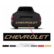 Adesivo Chevrolet Tampa Traseira Pick-up Corsa S10 Chevy 010