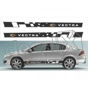 Adesivo Chevrolet Vectra Faixa Lateral 3m Vt101