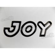 Adesivo Emblema Joy Celta Classic Corsa Resinado Preto