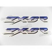 Adesivo Emblema Kawasaki Zx-6r Par Zx6r8