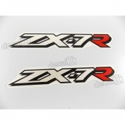 Adesivo Emblema Kawasaki Zx-7r Par Zx7rb