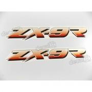 Adesivo Emblema Kawasaki Zx-9r Zx9ra2