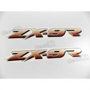 Adesivo Emblema Kawasaki Zx-9r Zx9ra4