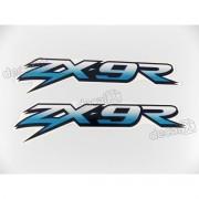 Adesivo Emblema Kawasaki Zx-9r Zx9ra8