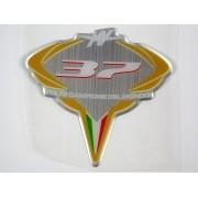Adesivo Emblema Mv Agusta Resinado Agrs14