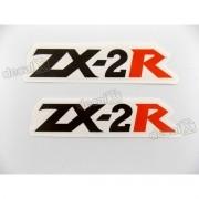 Adesivo Emblema Rabeta Kawasaki NINJA ZX-2r Zx2r1