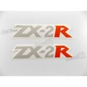 Adesivo Emblema Rabeta Kawasaki NINJA ZX-2r Zx2r2