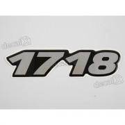 Adesivo Emblema Resinado Mercedes 1718 Cm58 Decalx