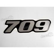Adesivo Emblema Resinado Mercedes 709 Cm5 Decalx