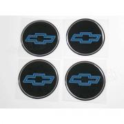 Adesivo Emblema Resinado Roda Chevrolet 58mm Cl10