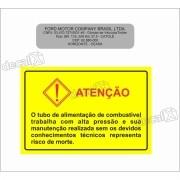 Adesivo Etiqueta Advertencia Troller