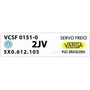 Adesivo Etiqueta Servo Freio Volkswagen Santana Voyage