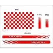 Adesivo Faixa Lateral Capo Teto Mala Fiat Punto Pntof25