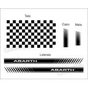 Adesivo Faixa Lateral Capo Teto Mala Fiat Punto Pntof26