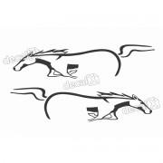 Adesivo Faixa Lateral Ford Ranger Cavalo Ran105