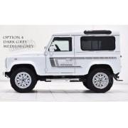 Adesivo Faixa Lateral Land Rover Defender 110 Dfndr21