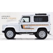 Adesivo Faixa Lateral Land Rover Defender 90 Dfndr42