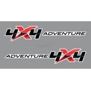 Adesivo Faixa Lateral Mitsubishi L200 4x4 Adventure L2010