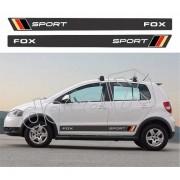 Adesivo Faixas Volkswagen Fox Fp008
