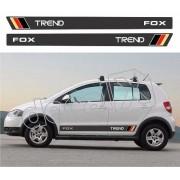 Adesivo Faixas Volkswagen Fox Fp009