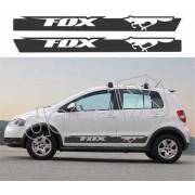Adesivo Faixas Volkswagen Fox Fp010