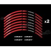 Adesivo Friso Refletivo Roda Moto Kasinski Comet Gt 650 Fr03