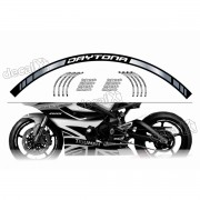 Adesivo Friso Refletivo Roda Moto Triumph Daytona Fri04
