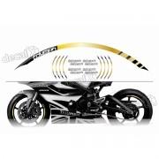 Adesivo Friso Refletivo Roda Moto Triumph Fri03 Decalx