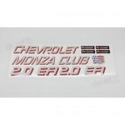 Adesivo Monza Club 2.0 Efi Mz003