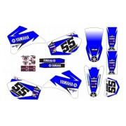 Adesivo Moto Cross Trilha Yamaha Wr 250 450 2007 0,20mm 047