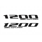 Adesivo Tanque Aba Triumph Tiger Explorer 1200 Tg044