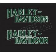 Adesivo Tanque Harley Davidson Custom adt001