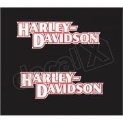 Adesivo Tanque Harley Davidson Custom adt004