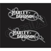 Adesivo Tanque Harley Davidson Custom adt007