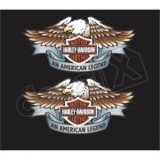 Adesivo Tanque Harley Davidson Custom adt011