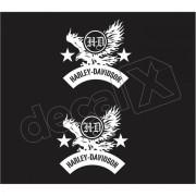 Adesivo Tanque Harley Davidson Custom adt016