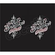 Adesivo Tanque Harley Davidson Custom adt018