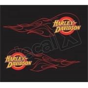 Adesivo Tanque Harley Davidson Custom adt020